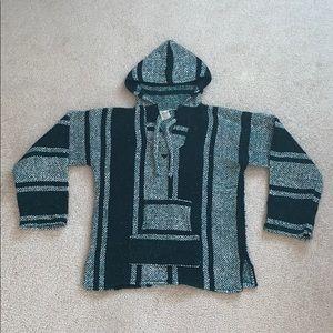 Mexican Baja Hoodie/Sweatshirt - Green